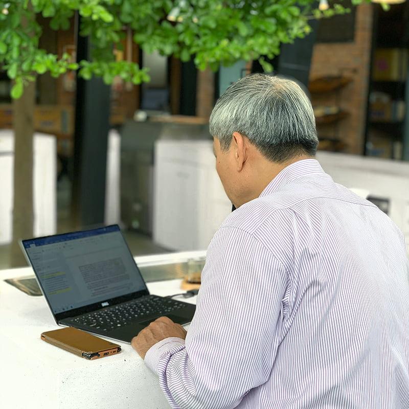 Không gian cà phê làm việc tại Đà Nẵng