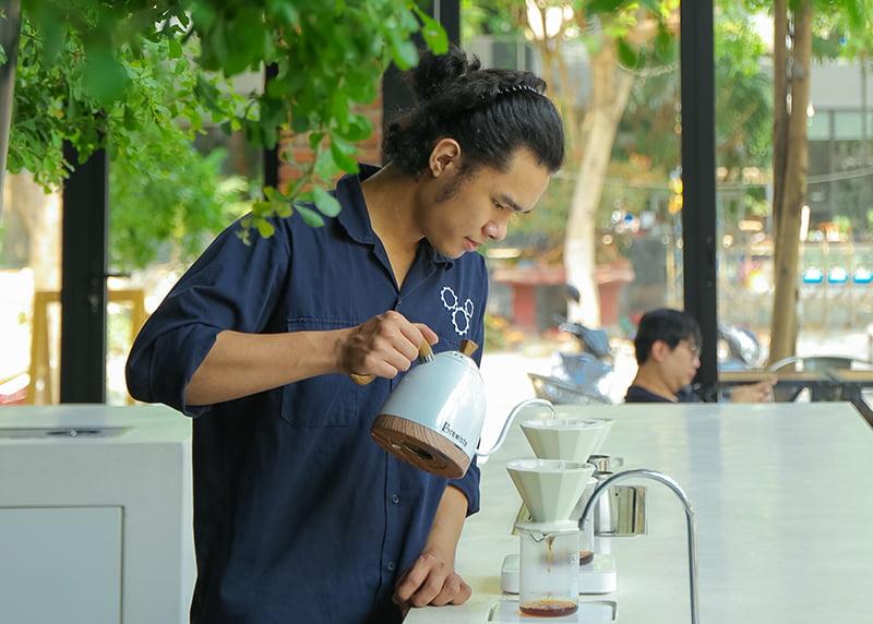 Tầm quan trọng của nước pha cà phê